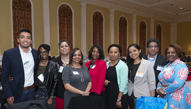 Image of May 2018 Final Reception FTC Partners with Interns from Fellows Program